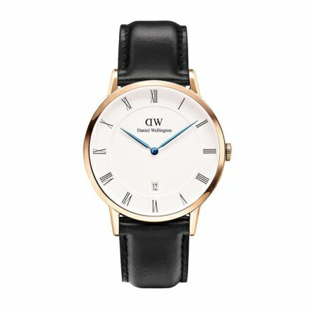 ~ 貨~Daniel Wellington DW 瑞典簡約風格 38mm 黑色 復古  D