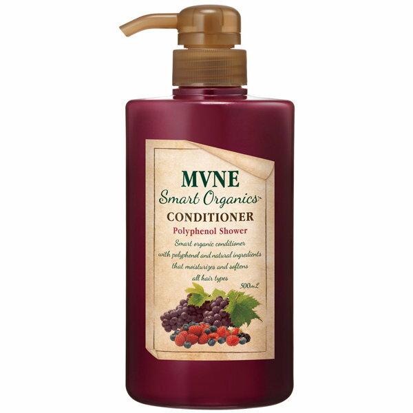 【買一送一】MVNE Smart 莓果多酚潤髮乳 500ml 0