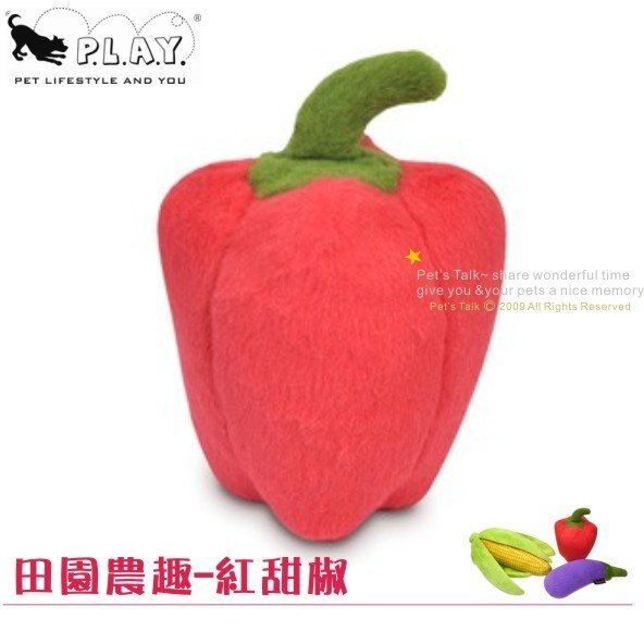 P.L.A.Y.田園農趣-紅甜椒 Pet\