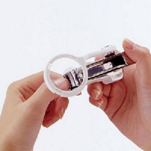 【預購】日本匠之技- 放大鏡指甲剪 - 白色
