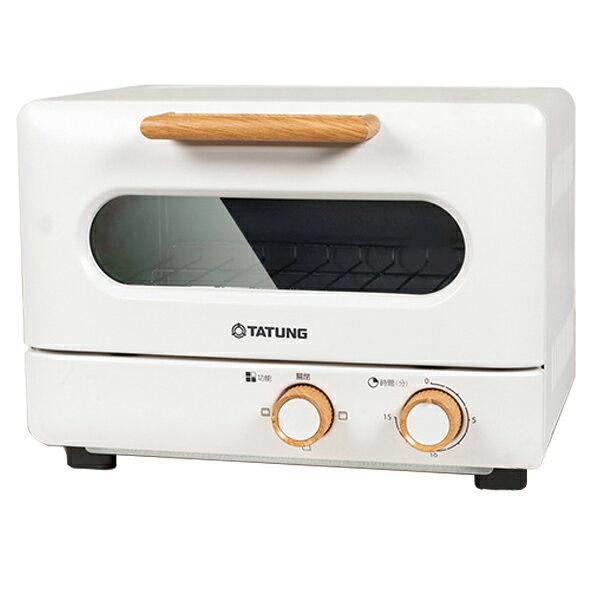 【TATUNG 大同】9L雪白木紋經典電烤箱 (TOT-908WA) 電烤箱 大同