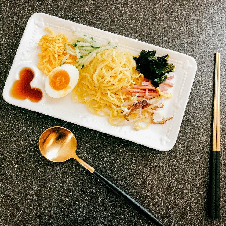 |現貨|日本空運 Disney 米奇浮雕造型長盤 / 壽司盤 / 功能盤|日本原裝盒|和風食器 米奇 陶瓷盤 0