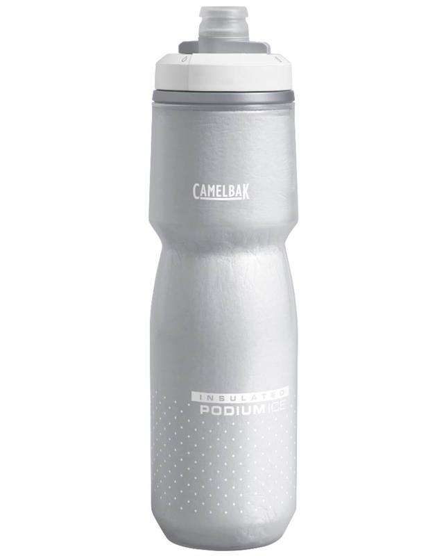 【【蘋果戶外】】美國 Camelbak ice 酷冰噴射保冷水瓶 雪白 加倍保冷 620ml 保冷瓶 單車水壺 運動水壺