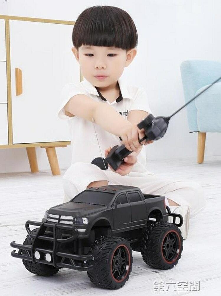 遙控汽車 超大遙控車越野車充電無線遙控汽車兒童玩具男孩玩具車電動漂移車 第六空間 母親節禮物
