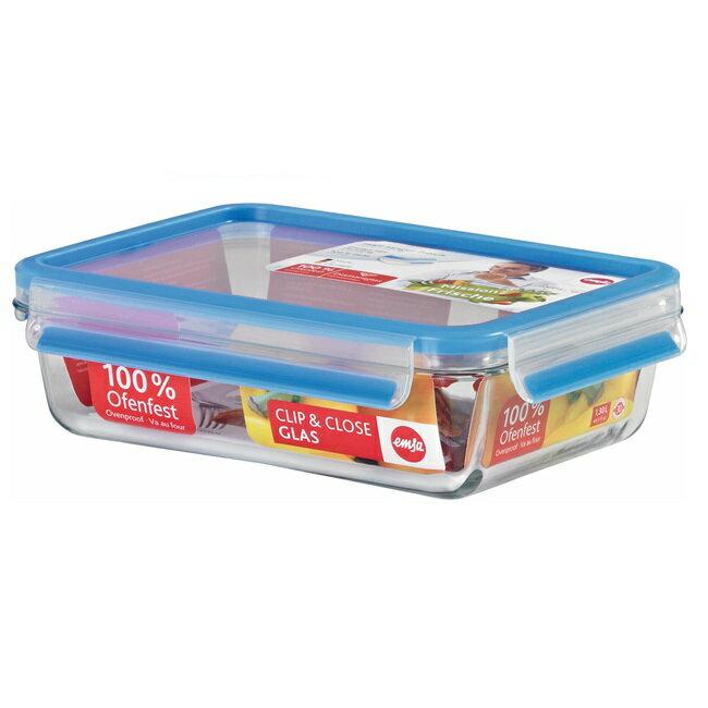 【德國EMSA】1.3L玻璃保鮮盒(513920)