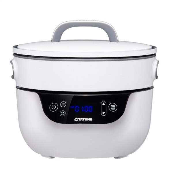 【TATUNG 大同】3L複合健康料理無水鍋/萬用鍋(TSB-3016EA)|鍋 大同 萬用鍋