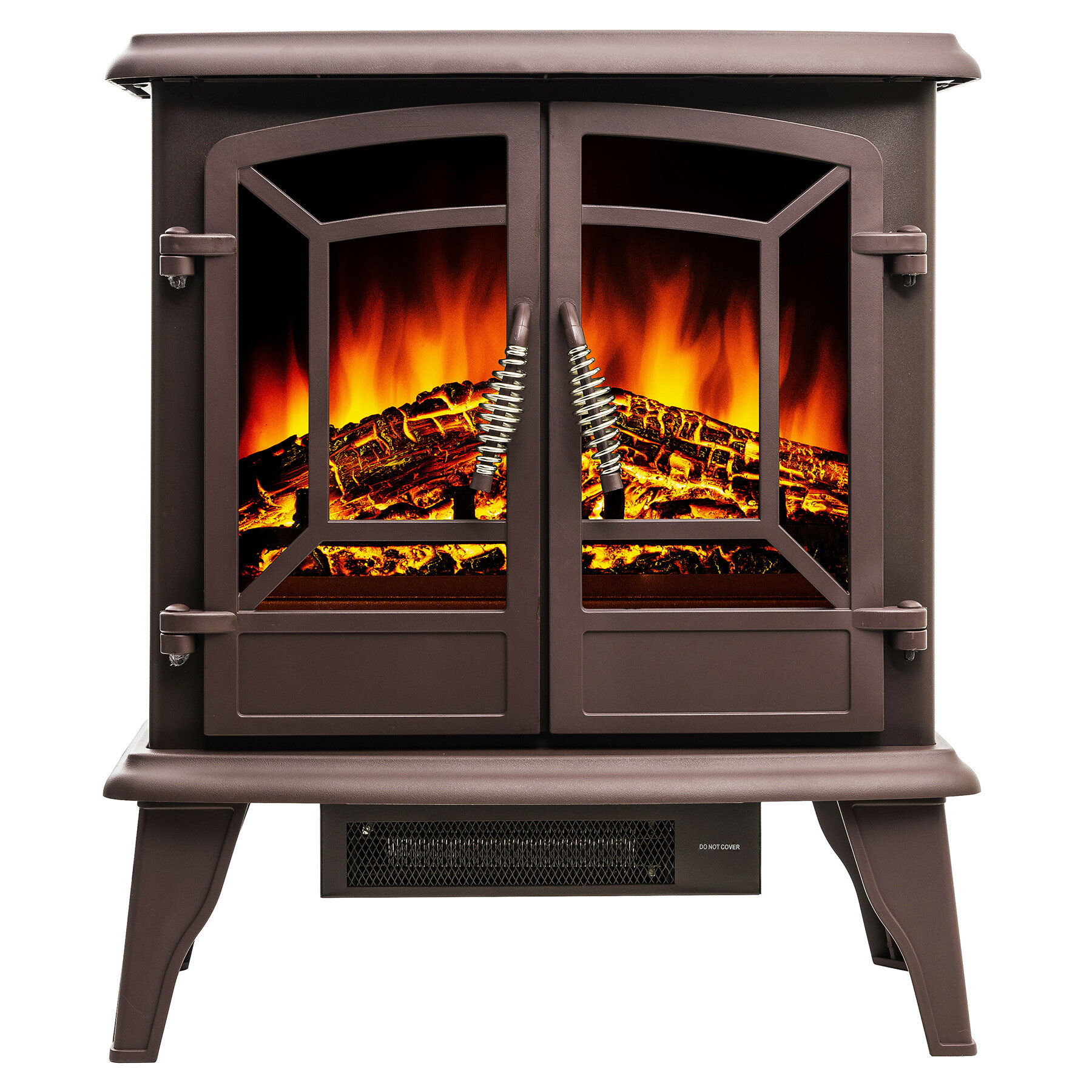 inch with aspen stove vintage and portable electric free black flame amazon logs fire fireplace standing realistic dp com