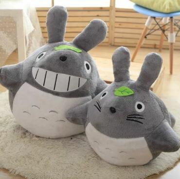 美麗大街【HB107031201E2】宮崎駿動漫周邊大龍貓公仔卡通毛絨玩具(60cm)