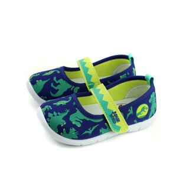 侏儸紀公園JURASSICWORLD娃娃鞋藍色中童W84404-550no970