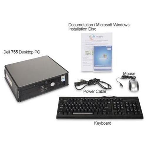 Dell Optiplex_755 Intel Core 2 Duo 2300MHz 80Gig 4096mb DVD ROM Windows 7 Professional 32 Bit Desktop Computer 3