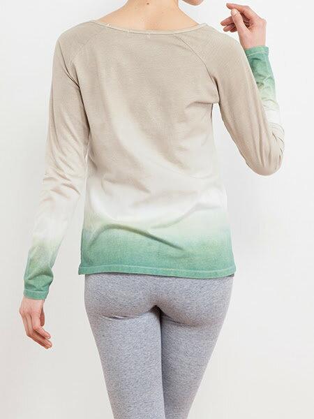 【Bali】經典草木染長袖T恤 6