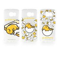 蛋黃哥週邊商品推薦【Sanrio】Samsung Galaxy S6 蛋黃哥彩繪透明保護軟套-懶懶系列