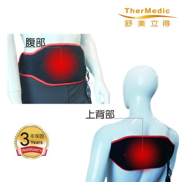 【舒美立得】深層遠紅外線熱敷-軀幹專用(PW140L) 腰 肩 背 等 通用-簡便型 3