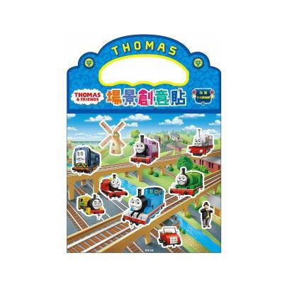 【卡通夢工場】場景創意貼-湯瑪士小火車 TQ020F