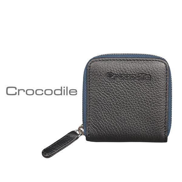 Crocodile 荔紋系列 Easy 輕巧方形拉鍊零錢包0103-08001