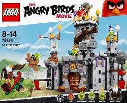 ☆勳寶玩具舖【現貨】LEGO 樂高 ANGRY BIRDS 系列  75826 憤怒鳥 豬大王的城堡