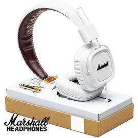 志達電子精品專賣:志達電子MAJOR-FXWhite白色Marshall英國設計耳罩式耳機AppleiPhoneiPodiPad