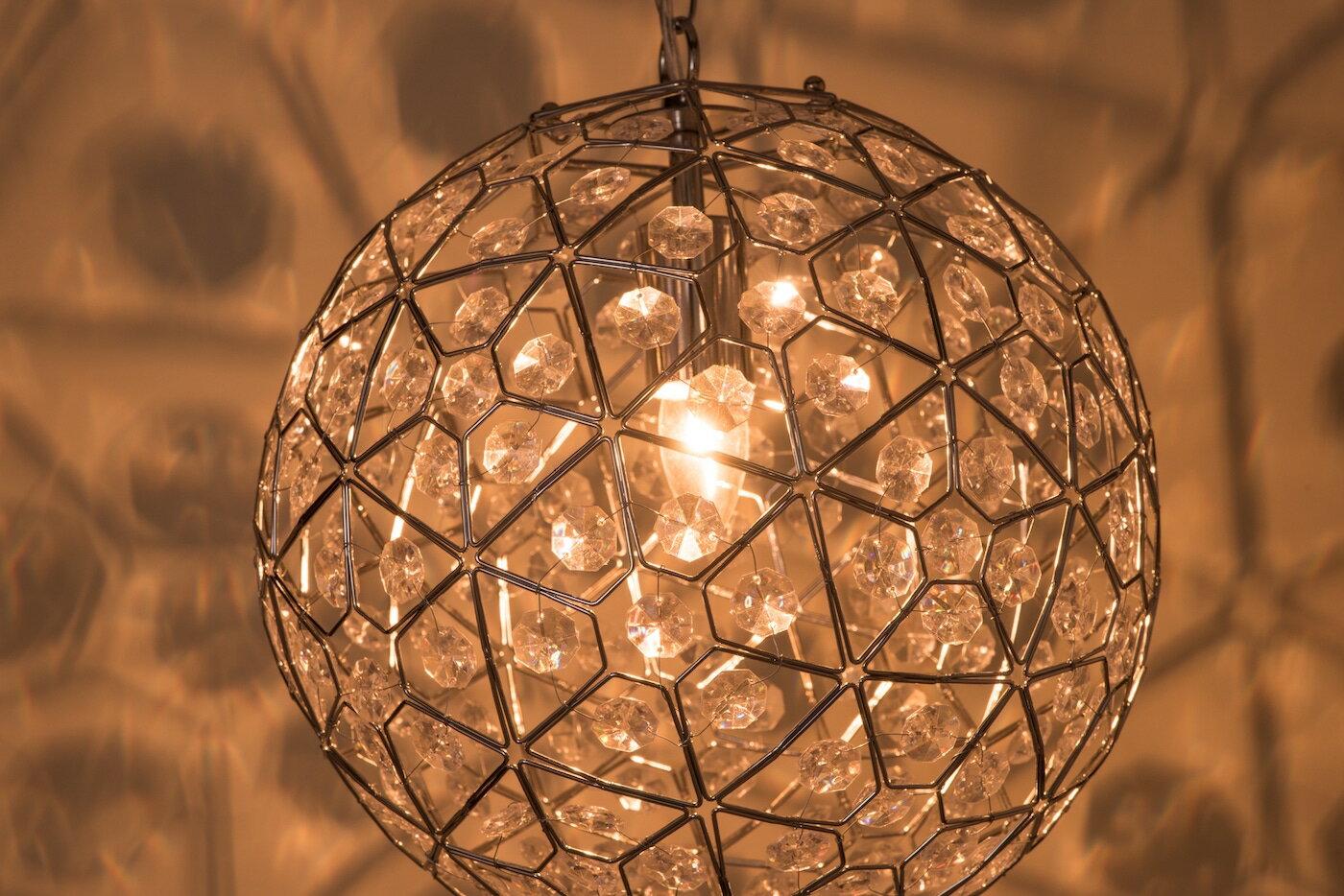 圓形幾何圖案壓克力吊燈-BNL00069 5