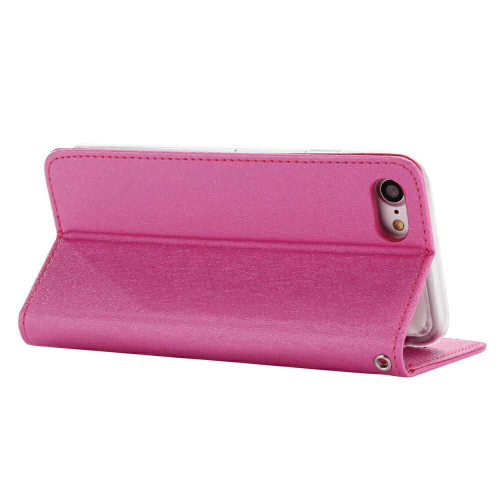 Apple iPhone 7 / iPhone 8 共用 星空粉彩系列皮套 側掀磁吸支架式皮套 頂級奢華質感 矽膠軟殼 抗震耐摔 1