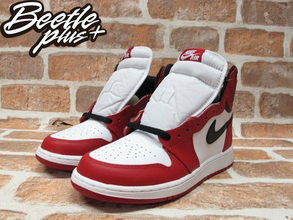 BEETLE PLUS NIKE AIR JORDAN 1 RETRO HIGH OG BG CHICAGO 芝加哥 喬丹 公牛 皮朋 白黑紅 女鞋 575441-101 1