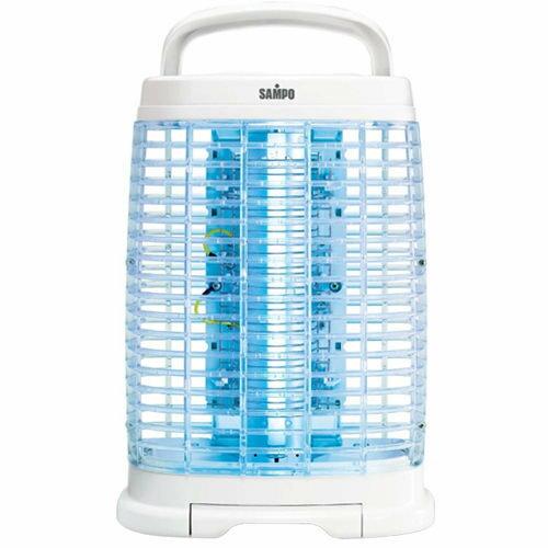 ◤A級 品‧數量有限◢ SAMPO 聲寶15W 奈之米銀捕蚊燈 ^(ML~DF15S^)