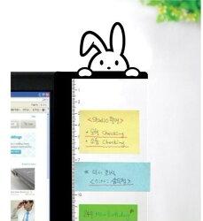 創意可愛電腦螢幕側邊便利貼留言板(現貨+預購)