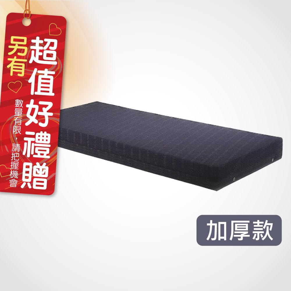 電動床病床護理床墊 L192xW86xH11cm(厚) 電動床專用 日式Q床墊 高密度蛋型雙面軟硬優質床墊 贈 床包一組