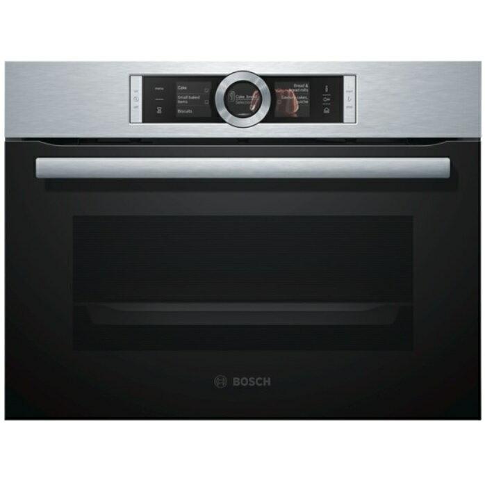 德國 BOSCH博世 CSG656BS1 嵌入式 45公分 蒸烤爐 (BOSCH 8系列) ※熱線07-7428010 - 限時優惠好康折扣