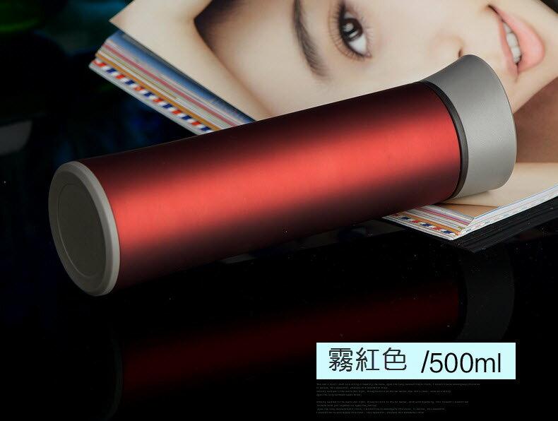 【2入免運組】KAXIFEI 都會簡約保溫杯500ml 304不繡鋼內膽 專利隱藏式把手隨手杯 高檔商務杯 適禮贈品可訂製Logo 6