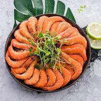 中秋節烤肉-海鮮推薦到鮮甜熟白蝦 23-25隻 (400G±5%/盒)  | 派大鮮就在派大鮮推薦中秋節烤肉-海鮮