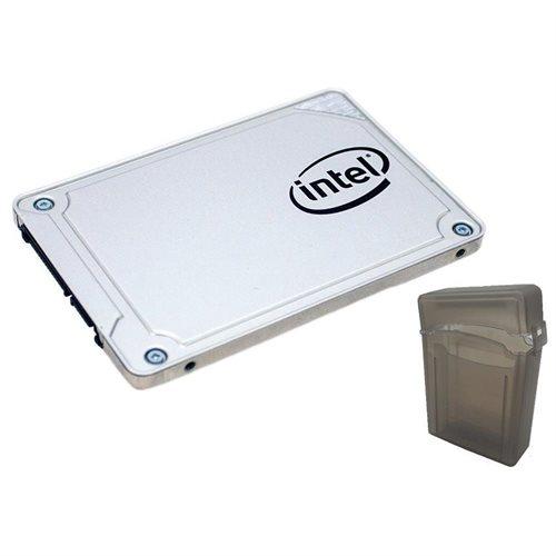 """Intel SSD 545s Series 256GB 2.5"""" SATA III 64-Layer 3D NAND TLC Internal Solid State Drive SSDSC2KW256G8X1 + 2.5"""" SSD case 0"""