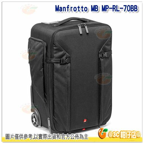 0利率 Manfrotto 曼富圖 MB MP~RL~70BB 大師級滾輪式攝影包 正成