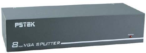 AviewS-8 PORT螢幕分配器/外型金屬材質/PSTEK VP-18 0