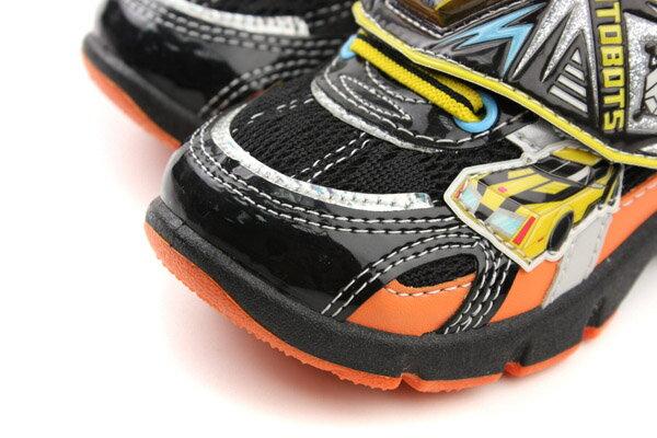 變形金鋼 TRANSFORMERS  運動鞋 球鞋 魔鬼氈 舒適 黃色 黑色 中童 童鞋 TF5169 no698 4