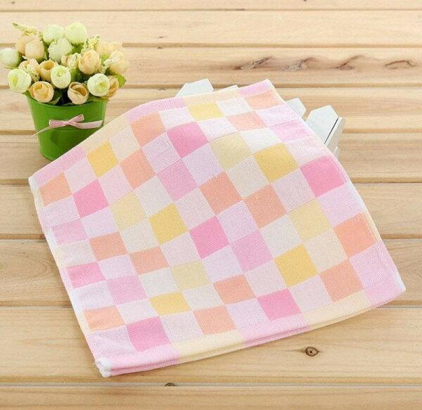 嬰兒雙層紗布小方巾(5入裝)嬰兒口水巾小手帕隨機出色✤朵拉伊露✤