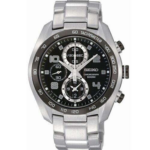 SEIKO耀眼時尚運動腕錶黑面SNDD35P1(7T92-0MP0D)