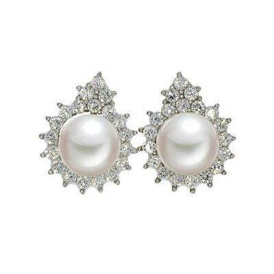 ~925純銀耳環鑲鑽耳飾~高貴 大方 母親節生日情人節 女飾品73dm184~ ~~米蘭