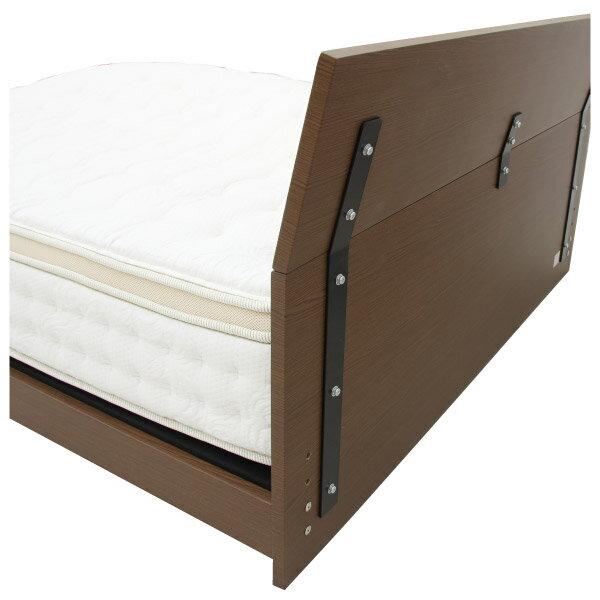 ◎(OUTLET)雙人加大床座 床架 T-BENT MBR 福利品 NITORI宜得利家居 4