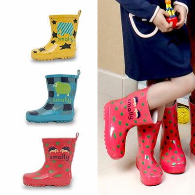 里奈子 Li-nagi:LINAGI里奈子【S72248】韓兒童雨鞋雪地可穿防水防滑男女可穿