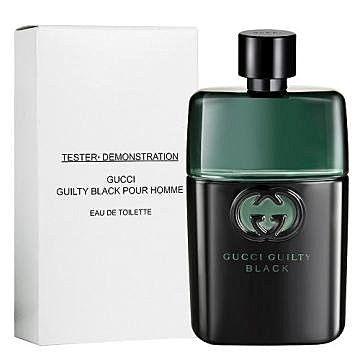 香水1986☆ Gucci Guilty Black 罪愛夜男性淡香水TESTER 90ml