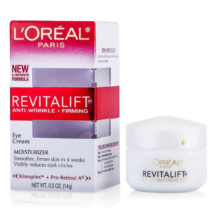 L''''Oreal 萊雅 活力緊緻眼霜RevitaLift Anti-Wrinkle + Firming Eye Cream 14g/0.5oz