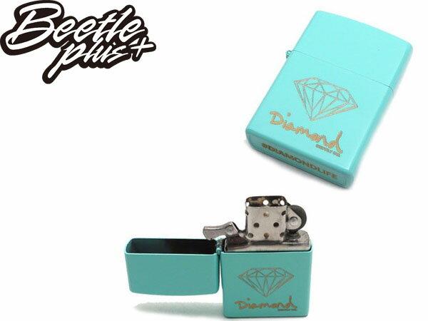 BEETLE DIAMOND LIGHTER ZIPPO 蒂芬妮金 黑金 打火機 Z00DAZ13-BLK BLUE 5