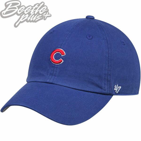 BEETLE47BRAND老帽芝加哥小熊隊CHICAGOCUBSMLB小LOGO藍紅