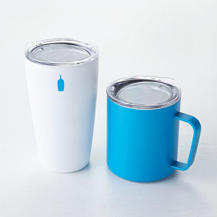 日本BLUE BOTTLE 藍瓶咖啡 / COMMUTER CUP. MiiR聯名雙層真空斷熱保溫保冷隨行杯( 白色 )   / g039。1色。(3456*1.5)日本必買 日本樂天代購 /  件件含運 2