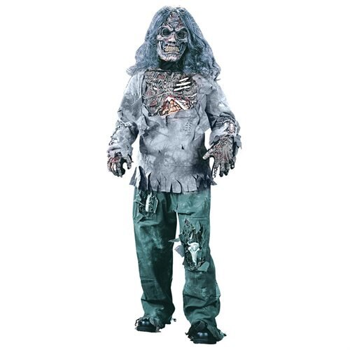 COMPLETE ZOMBIE Halloween Costume, CHILD - Child Medium 0