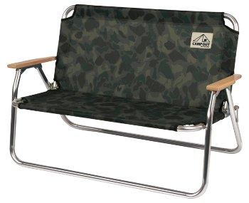 ├登山樂┤日本CaptainStag鹿牌海洋迷彩雙人椅#UC-1657