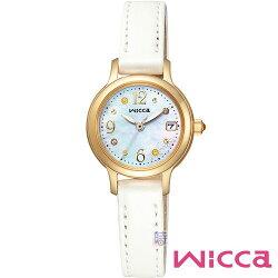 【時光鐘錶】CITIZEN Wicca KH4-921-90 星辰 光動能 女錶