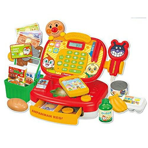 日本 ANPANMAN 麵包超人 超市收銀機玩具(大組) *夏日微風*