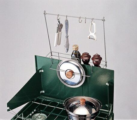 【鄉野情戶外專業】 Coleman |美國| 雙口爐專用掛架/廚房料理掛架/CM-7098JM000