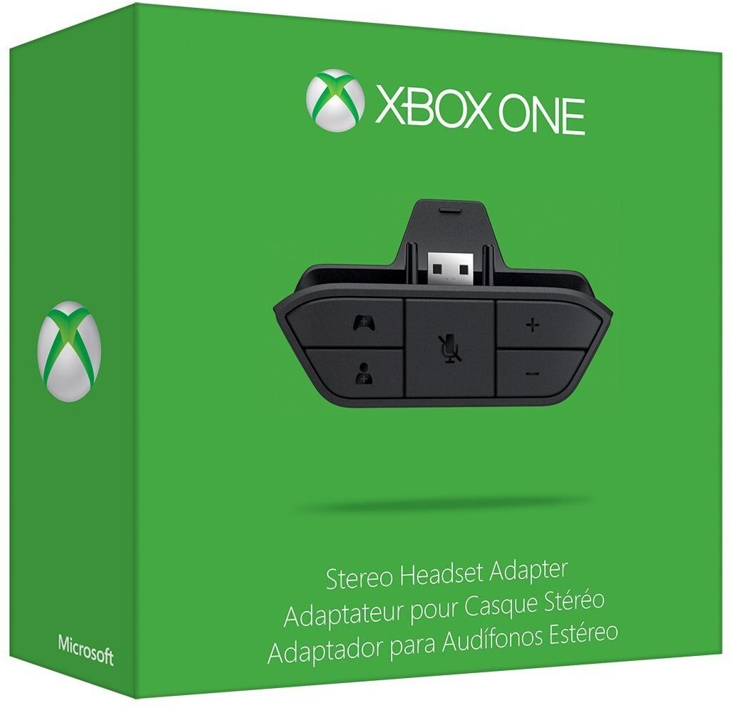 Official Genuine Microsoft Xbox One Stereo Headset Adapter -6JV-00006 0